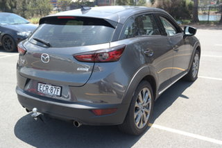 2019 Mazda CX-3 DK2W7A Akari SKYACTIV-Drive FWD LE Machine Grey 6 Speed Sports Automatic Wagon