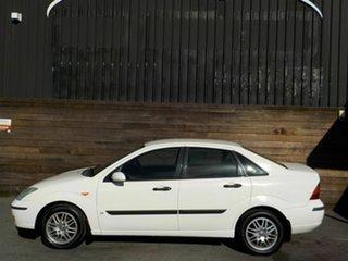 2003 Ford Focus LR MY2003 LX White 4 Speed Automatic Sedan