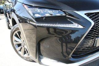 2017 Lexus NX200T AGZ15R F Sport (AWD) Black 6 Speed Automatic Wagon.