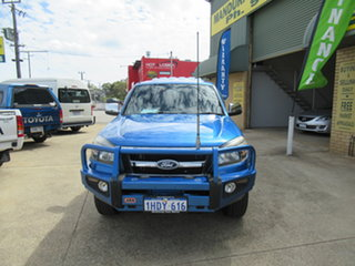 2010 Ford Ranger PK XLT Blue 5 Speed Manual Dual Cab.