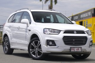 2016 Holden Captiva CG MY17 LTZ AWD White 6 Speed Sports Automatic Wagon.
