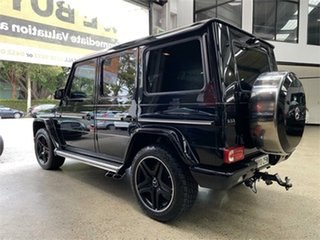 2015 Mercedes-Benz G-Class W463 G63 AMG Obsidian Black Sports Automatic Wagon