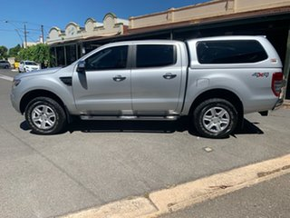2015 Ford Ranger PX XLT Double Cab Silver 6 Speed Manual Utility
