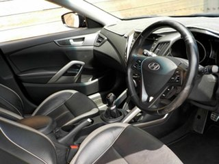 2013 Hyundai Veloster FS3 SR Coupe Turbo Black 6 Speed Manual Hatchback