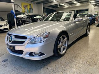 2012 Mercedes-Benz SL-Class R230 SL500 Silver Sports Automatic Roadster