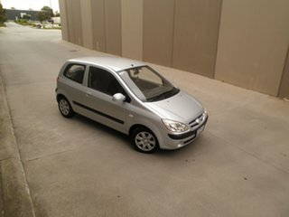 2006 Hyundai Getz TB MY06 Silver Lining 5 Speed Manual Hatchback