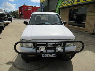 2004 Ford Courier PG GL White 5 Speed Manual Dual Cab.