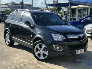 2013 Holden Captiva CG MY14 5 AWD LT Black 6 Speed Sports Automatic Wagon.