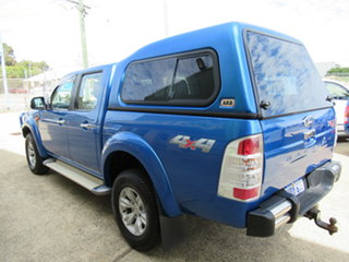 2010 Ford Ranger PK XLT Blue 5 Speed Manual Dual Cab