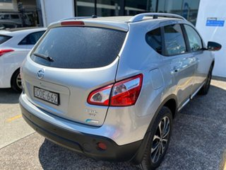 2013 Nissan Dualis J10W Series 3 MY12 Ti-L X-tronic AWD Silver 6 Speed Constant Variable Hatchback