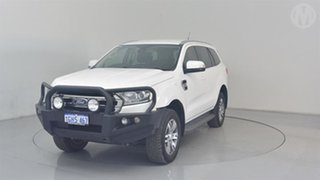2017 Ford Everest UA MY17 Trend Cool White 6 Speed Automatic SUV.