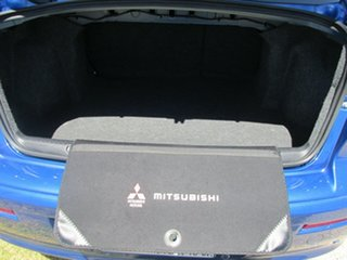 2011 Mitsubishi Lancer CJ MY11 SX Blue 6 Speed Constant Variable Sedan