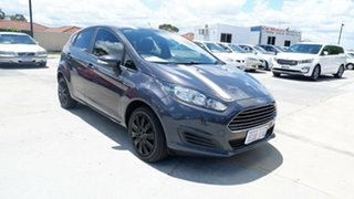 2014 Ford Fiesta WZ Ambiente PwrShift Black 6 Speed Sports Automatic Dual Clutch Hatchback.