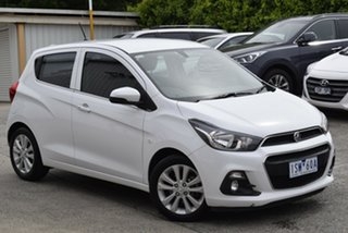 2016 Holden Spark MP MY16 LT White 1 Speed Constant Variable Hatchback.