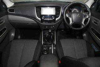 2017 Mitsubishi Triton MQ MY17 GLS Double Cab Sports Edition White 6 Speed Manual Utility
