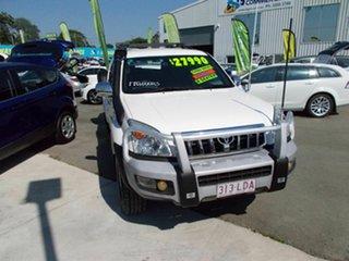 2008 Toyota Landcruiser 120 GXL White 6 Speed Manual Wagon