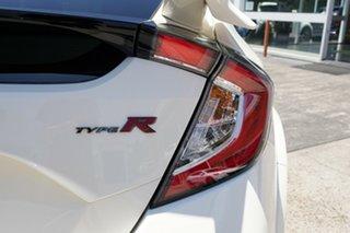 2018 Honda Civic 10th Gen MY18 Type R White 6 Speed Manual Hatchback