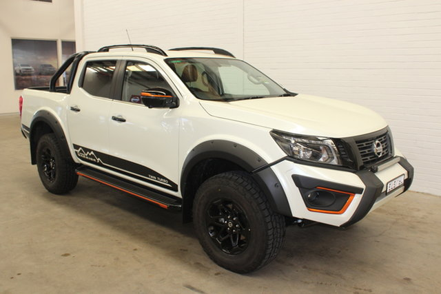 Demo Nissan Navara D23 S4 MY20 N-TREK Warrior Cardiff, 2020 Nissan Navara D23 S4 MY20 N-TREK Warrior White Diamond 7 Speed Sports Automatic Utility