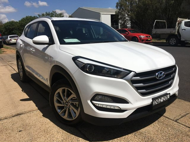 Used Hyundai Tucson TL2 Active Dubbo, 2017 Hyundai Tucson TL2 Active White Sports Automatic