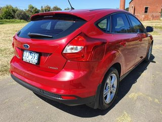 2012 Ford Focus LW Trend Red 5 Speed Manual Hatchback
