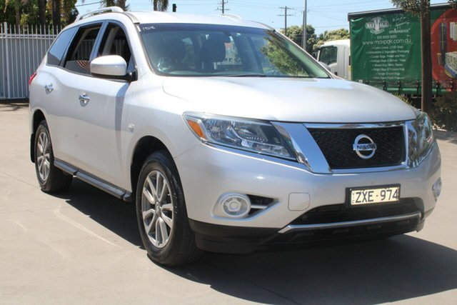 Used Nissan Pathfinder R52 ST (4x2) West Footscray, 2013 Nissan Pathfinder R52 ST (4x2) Silver Continuous Variable Wagon