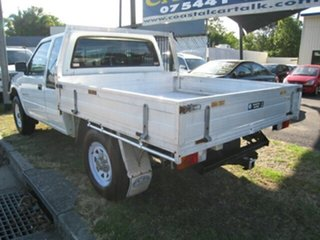 2001 Holden Rodeo TFR9 LS (4x4) White 5 Speed Manual 4x4 Space Cab Pickup