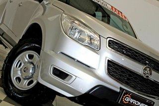 2014 Holden Colorado RG MY15 LS (4x2) Silver 6 Speed Automatic Crew Cab Pickup.