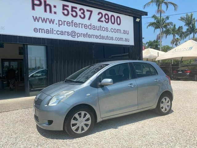 Used Toyota Yaris NCP91R YRS Arundel, 2006 Toyota Yaris NCP91R YRS Grey 4 Speed Automatic Hatchback