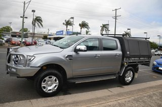 2016 Ford Ranger PX MkII XLT 3.2 (4x4) Grey 6 Speed Manual Double Cab Pick Up.
