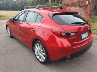 2014 Mazda 3 BM Series SP25 Red Sports Automatic Hatchback