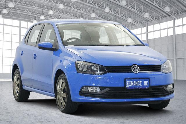 Used Volkswagen Polo 6R MY17 66TSI DSG Trendline Victoria Park, 2017 Volkswagen Polo 6R MY17 66TSI DSG Trendline Blue 7 Speed Sports Automatic Dual Clutch Hatchback