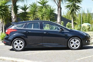 2013 Ford Focus LW MkII Sport PwrShift Black 6 Speed Sports Automatic Dual Clutch Hatchback