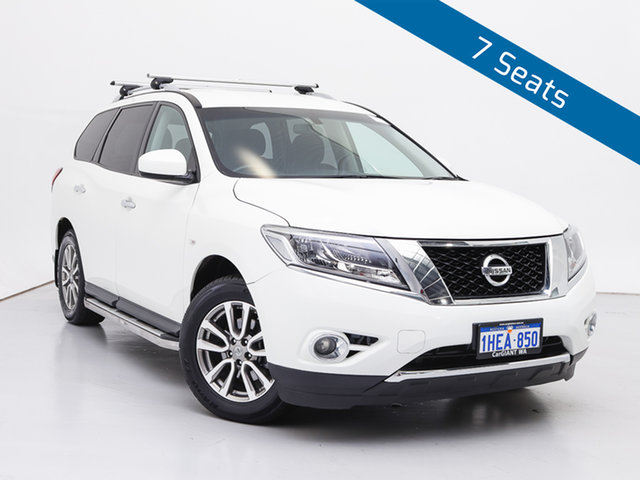 Used Nissan Pathfinder R52 ST (4x4), 2015 Nissan Pathfinder R52 ST (4x4) White Continuous Variable Wagon