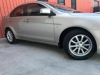 2010 Mitsubishi Lancer CJ MY11 SX Gold 5 Speed Manual Sedan