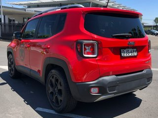 2016 Jeep Renegade BU MY16 Limited DDCT Red 6 Speed Sports Automatic Dual Clutch Hatchback