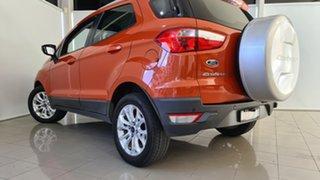2013 Ford Ecosport BK Titanium PwrShift Orange 6 Speed Sports Automatic Dual Clutch Wagon