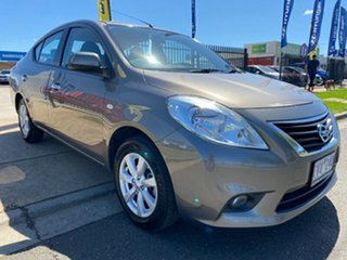2012 Nissan Almera N17 TI Grey 4 Speed Automatic Sedan.