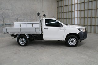2017 Toyota Hilux GUN125R Workmate White 6 speed Automatic Cab Chassis