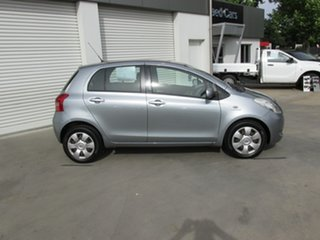 2007 Toyota Yaris NCP91R YRS Silver 4 Speed Automatic Hatchback.