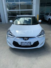 2017 Hyundai Veloster FS5 Series II Coupe D-CT Crystal White 6 Speed Sports Automatic Dual Clutch.