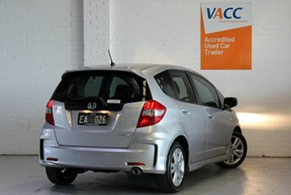 2012 Honda Jazz GE MY12 VTi-S Silver 5 Speed Sports Automatic Hatchback