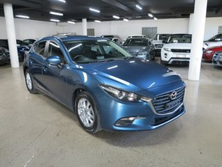 2018 Mazda 3 BN5478 Maxx SKYACTIV-Drive Sport Blue 6 Speed Sports Automatic Hatchback.