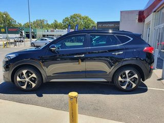 2017 Hyundai Tucson TLe MY17 Highlander D-CT AWD Black 7 Speed Sports Automatic Dual Clutch Wagon