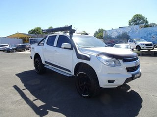 2014 Holden Colorado RG MY15 LS Crew Cab White 6 Speed Sports Automatic Utility.