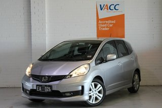2012 Honda Jazz GE MY12 VTi-S Silver 5 Speed Sports Automatic Hatchback.