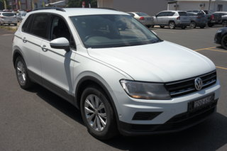 2017 Volkswagen Tiguan 5N MY17 110TSI DSG 2WD Trendline White 6 Speed Sports Automatic Dual Clutch.