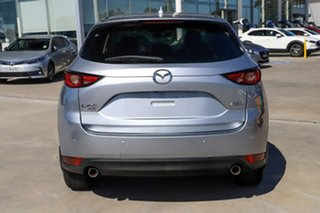 2017 Mazda CX-5 KF4WLA GT SKYACTIV-Drive i-ACTIV AWD Silver 6 Speed Sports Automatic Wagon