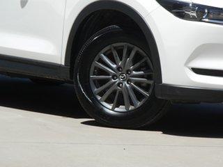 2019 Mazda CX-5 KF2W76 Maxx SKYACTIV-MT FWD White 6 Speed Manual Wagon.