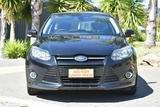 2013 Ford Focus LW MkII Sport PwrShift Black 6 Speed Sports Automatic Dual Clutch Hatchback.