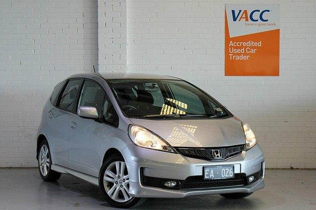 Used Honda Jazz GE MY12 VTi-S Moorabbin, 2012 Honda Jazz GE MY12 VTi-S Silver 5 Speed Sports Automatic Hatchback